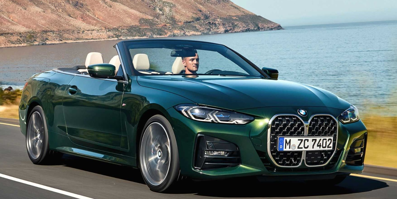 2021 bmw 4 series convertible with 374 hp   dosula