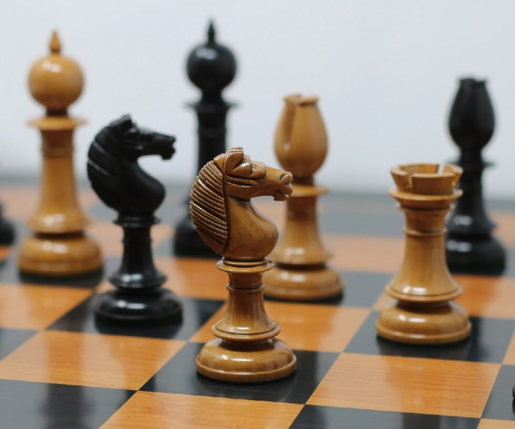 Handmade Wooden Chess Set