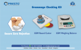 Grammage Checking Kit