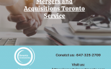 Toronto Mergers and Acquisitions Service